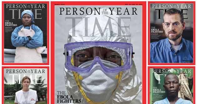 The Ebola Fighters are TIME's 2014 Person of the Year