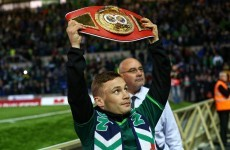 Carl Frampton will make his first world title defence early next year