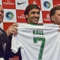 New York Cosmos unveil Spanish legend Raul after the striker reversed his decision to retire