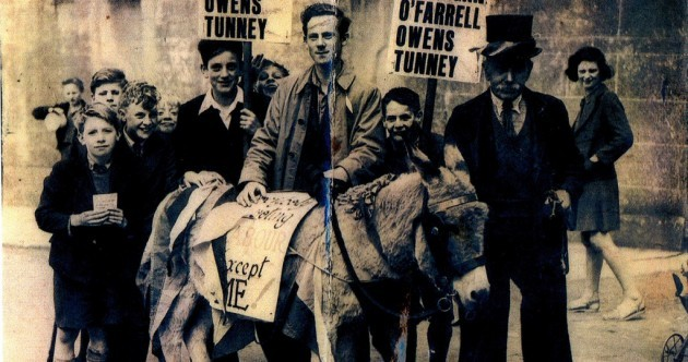 Maybe Labour should canvass with donkeys ... it worked in the 1940s