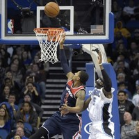 Washington Wizards conjured up this winning alley-oop with just 0.8 seconds left
