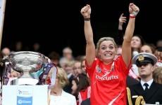 Who was Ireland's greatest sportswoman in 2014?