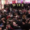 Police in London arrest 76 people after shopping centre 'die-in'