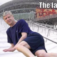 Arsene Wenger and 'Let it Go' from Frozen -- together at last