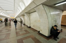Couple have sex in Moscow metro tunnel, security forces freak out