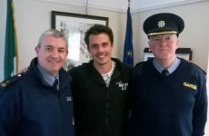 The Gardaí got a visit from a Home and Away actor today, for some reason
