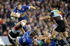 Late Leinster revival banishes Quins and keeps home quarter-final hopes alive