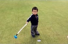 Little boy's overreaction to a missed putt is all of us on a bad day