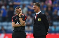 LVG will rely on Giggsy to fire up United stars with pre-Liverpool game team talk