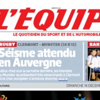 Here's what the French papers are saying about Munster's visit to Clermont
