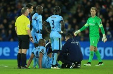 Injuries to Vincent Kompany and Edin Dzeko overshadow Man City's win