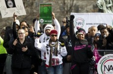 Thousands march in Washington and New York to demand action on police killings