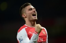 Giroud and Cazorla both hit doubles as Arsenal breeze past Newcastle