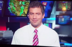 American weatherman has unfortunate Aengus Mac Grianna moment