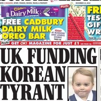 The Sunday Express have a very regrettable headline-photo combo this morning
