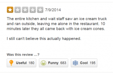 This amazing Yelp review is going super viral, and for good reason