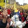 Some of the world's best rugby fans have been partying in Clermont