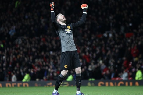 de Gea made a string of superb saves to deny Liverpool.
