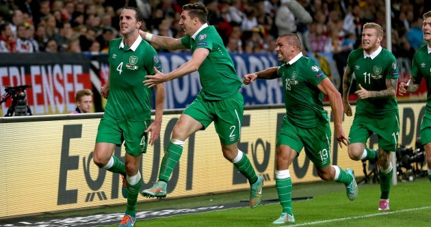The story behind that pic after John O'Shea's last-minute equaliser in Gelsenkirchen