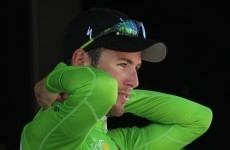 It's not easy being (in) green: Cav still dreaming of points triumph