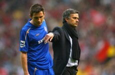 Jose Mourinho: I was right to release Frank Lampard for the future of the club
