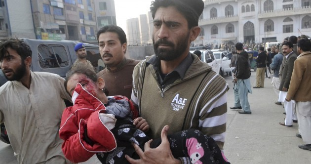 132 students and 9 staff slaughtered in terror assault on Pakistan school