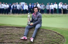 Here's one award Lewis Hamilton can't steal from Rory McIlroy