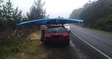 New Zealand police say sorry: That guy with the sideways kayak was NOT Irish