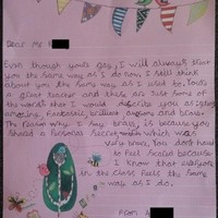 Here's the heartfelt letter a 9-year-old girl wrote her teacher after he came out as gay