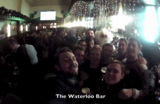 This one-minute video perfectly captures the shambles of a 12 Pubs crawl