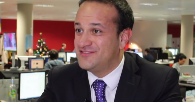 We asked Leo Varadkar if he finds it hard to keep his mouth shut...