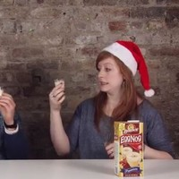 Watch Irish people sample American Christmas delicacies for the first time