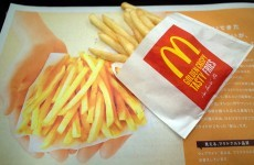 McDonald's is having to ration fries in Japan
