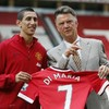 Manchester United will spend almost €500 million in total on Shaw, Di Maria and Mata