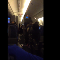 Video shows terrifying scenes inside airplane forced to make emergency landing
