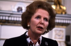 Thatcher in '84: 'The Irish don't like to move, but they're all terribly happy to move to Britain'