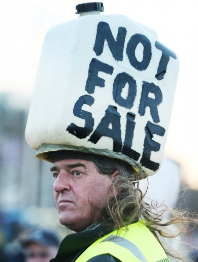 Will the Seanad reject water charges?
