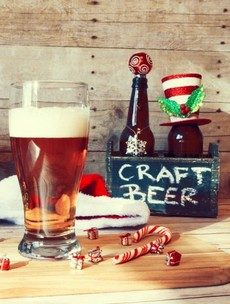 Five Irish Christmas brews --- reviewed by people who don't normally do this sort of thing for a living