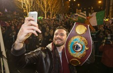 Andy Lee's tequila and Devin Toner's an elf! It's the best sporting tweets of the week