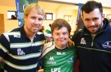 Connacht visit Galway Hospital and Ability West to spread Xmas cheer