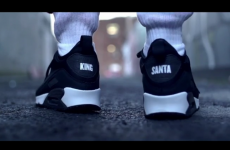 Santa gets 'King Nidge' runners in this frankly horrifying Love/Hate tribute
