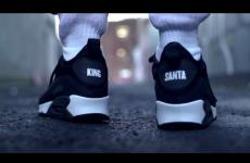 Santa gets 'King Nidge' runners in this frankly horrifying Love/Hate tribute