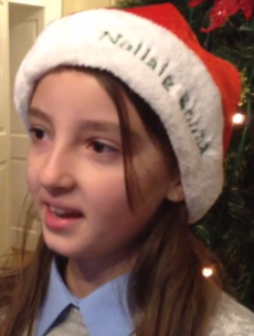 What are these kids most looking forward to about Christmas?
