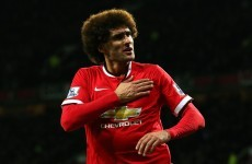 Fellaini: Belief growing of title tilt at United