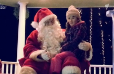 Town's Santa learns sign language so he can speak to little girl who is deaf