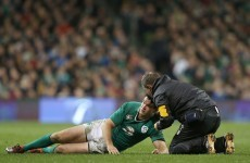 Racing Metro rule Jonathan Sexton out until mid-February, when Ireland host France