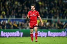 Munster look to Hanrahan and co. to maintain European positives in Glasgow