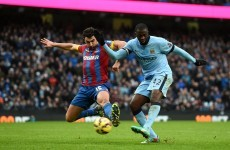 Who needs strikers anyway? Silva's double and Yaya's bullet moves City level with Chelsea