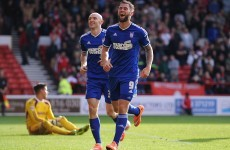Ireland's Daryl Murphy is now the top scorer in the Championship