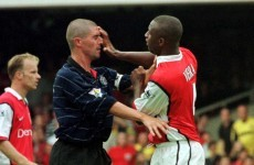 Keane/Viera: there's a little bit of rivalry there